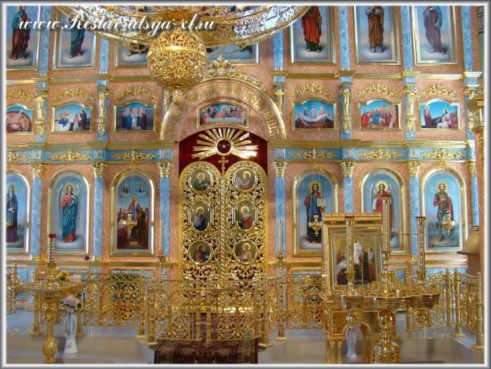 Иконостас, храм Успения Богородицы, село Шиморское